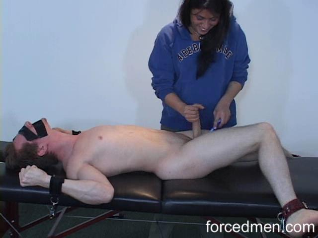 Mistress Lindsay Layne In Scene: Punishment milking - FORCEDMEN - SD/480p/WMV