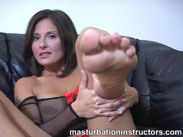 30 year old milf Lola In Scene: Lola's perfectly smelly feet - MASTURBATIONINSTRUCTORS - SD/480p/WMV