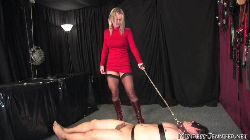 Mistress Crystal Carrera In Scene: Fill His Ass Full - MISTRESS-JENNIFER - SD/480p/MP4