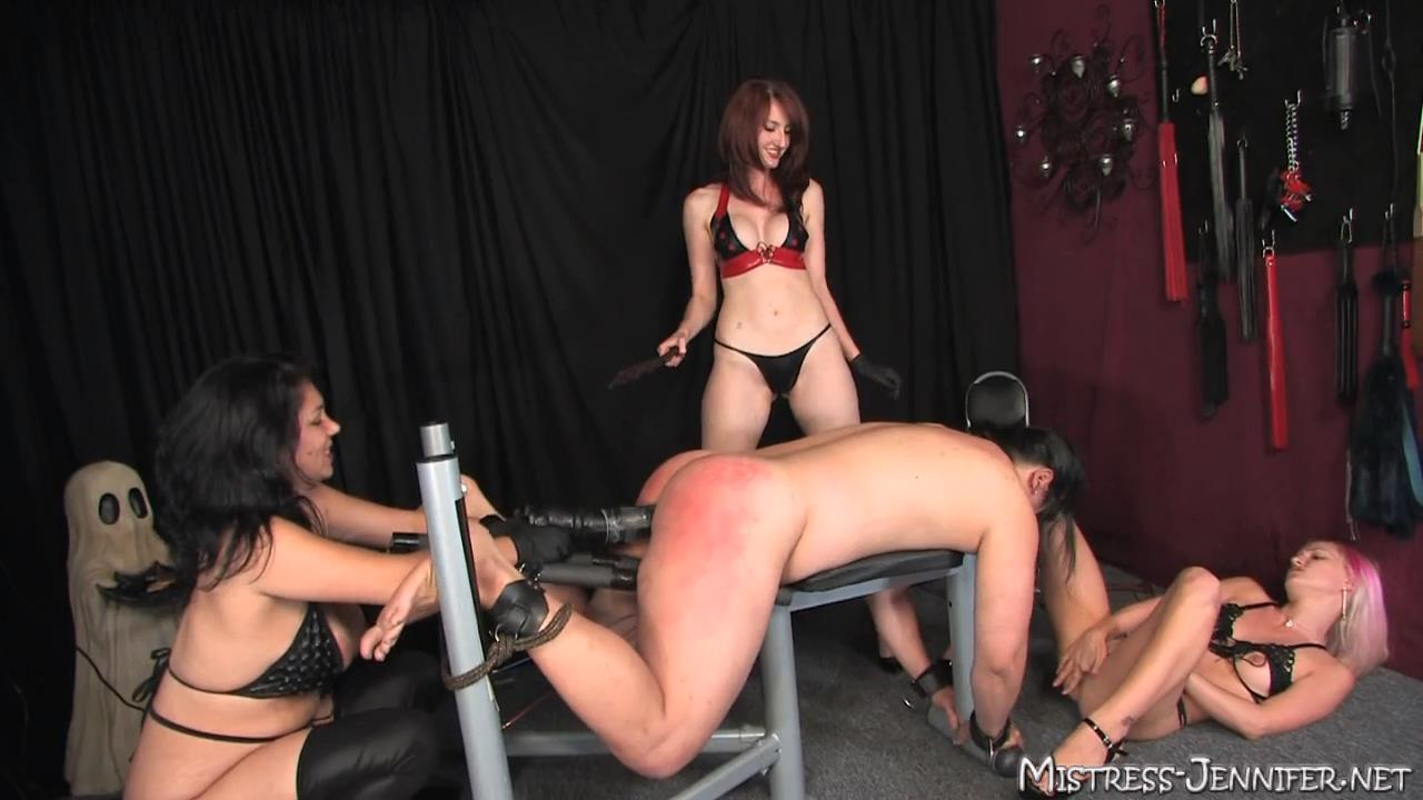 Mistress Jacklyn, Mistress Kendra In Scene: Pain Train Full - MISTRESS-JENNIFER - HD/720p/MP4