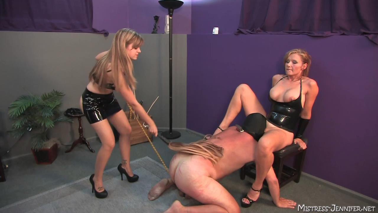 Mistress Missy, Mistress Savannah In Scene: Beat Those Balls Full - MISTRESS-JENNIFER - HD/720p/MP4