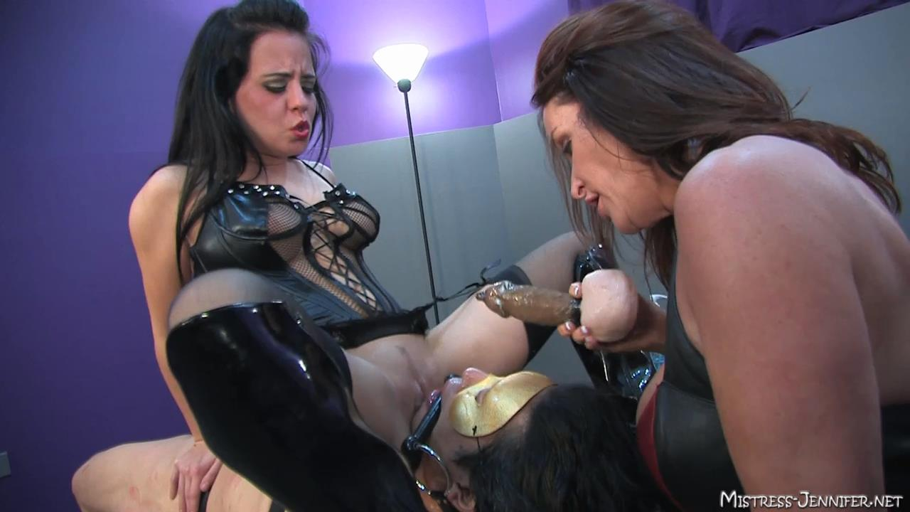 Mistress Karma, Mistress Rachel Steele In Scene: Team Femdom Full - MISTRESS-JENNIFER - HD/720p/MP4