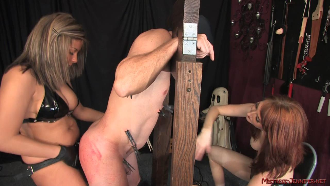 Mistress Kendra, Mistress Kiss In Scene: Rack Job Full - MISTRESS-JENNIFER - HD/720p/MP4