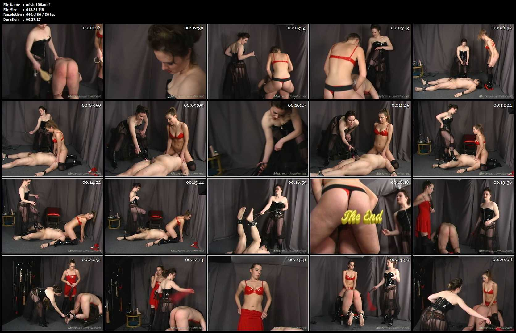 Mistress Noelle, Mistress Sarah In Scene: Lick Harder Full - MISTRESS-JENNIFER - SD/480p/MP4