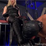 Mistress Sidonia In Scene: Leather Indoctrination – THEENGLISHMANSION – HD/720p/WMV