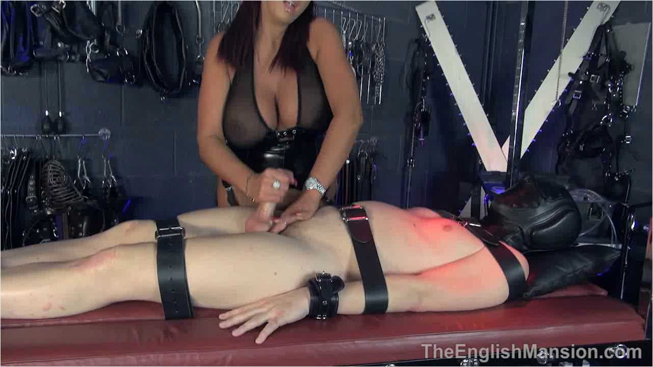 Mistress Pandora In Scene: Bondage Handjob - THEENGLISHMANSION - HD/720p/WMV