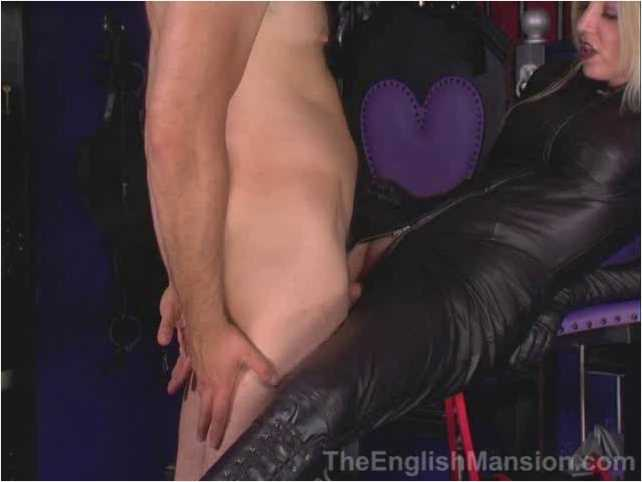 Mistress Sidonia In Scene: Trained to Fuck the Leather Mistress - THEENGLISHMANSION - SD/480p/WMV