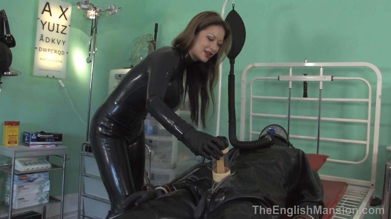 Miss Jasmine In Scene: Extreme Rubber Milking - THEENGLISHMANSION - HD/720p/WMV