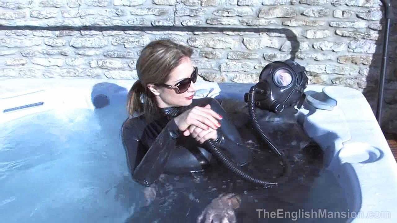 Miss Jasmine In Scene: Wet Rubber Suits - THEENGLISHMANSION - HD/720p/WMV
