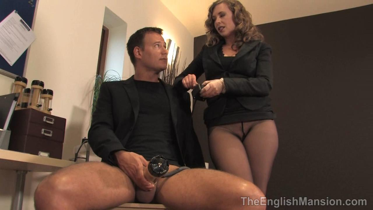 Mistress T In Scene: Milking Machine Therapist - THEENGLISHMANSION - HD/720p/WMV