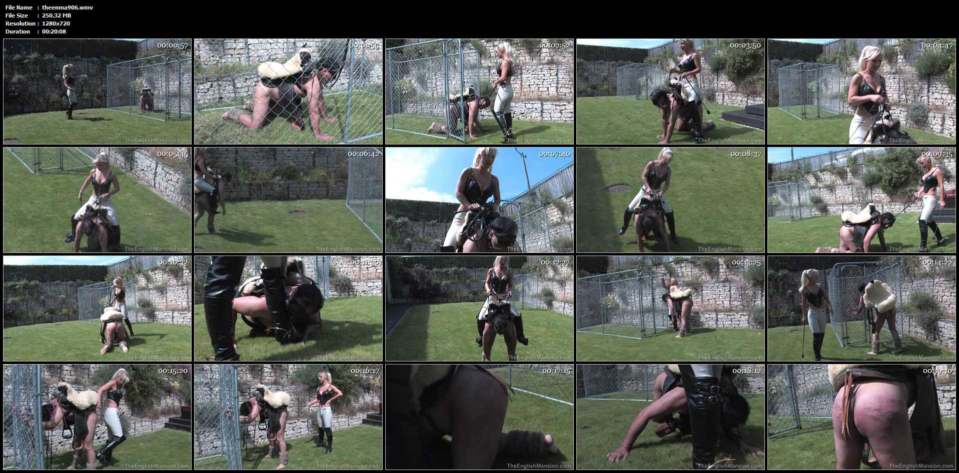 Mistress Vixen In Scene: Vixen's Pony Ride - THEENGLISHMANSION - HD/720p/WMV