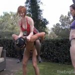 Miss Vivienne lAmour, Miss Zara In Scene: Poolside Riding – THEENGLISHMANSION – HD/720p/WMV