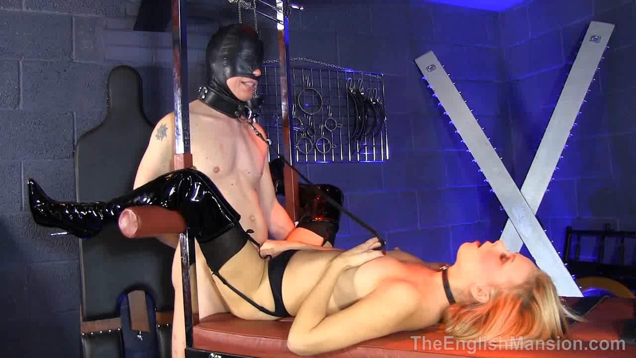 Mistress T, Sub Suzie In Scene: Sex Starved Slavegirl - THEENGLISHMANSION - HD/720p/WMV