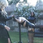 Miss Annalieza, Miss Jessica, Mistress Nikki, Mistress Rouge, The Hunteress In Scene: The Weekend Pt6 – Garden Splosh – THEENGLISHMANSION – HD/720p/WMV