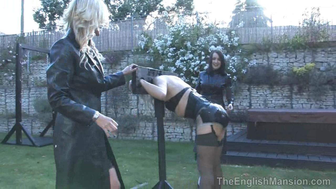 Miss Annalieza, Miss Jessica, Mistress Nikki, Mistress Rouge, The Hunteress In Scene: The Weekend Pt6 - Garden Splosh - THEENGLISHMANSION - HD/720p/WMV
