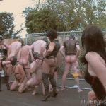 Lady Nina Birch, Miss Annalieza, Miss Jessica, Mistress Nikki, Mistress Rouge, Mistress Sidonia, The Hunteress In Scene: The Weekend Pt1 – Slave Picking – THEENGLISHMANSION – HD/720p/WMV