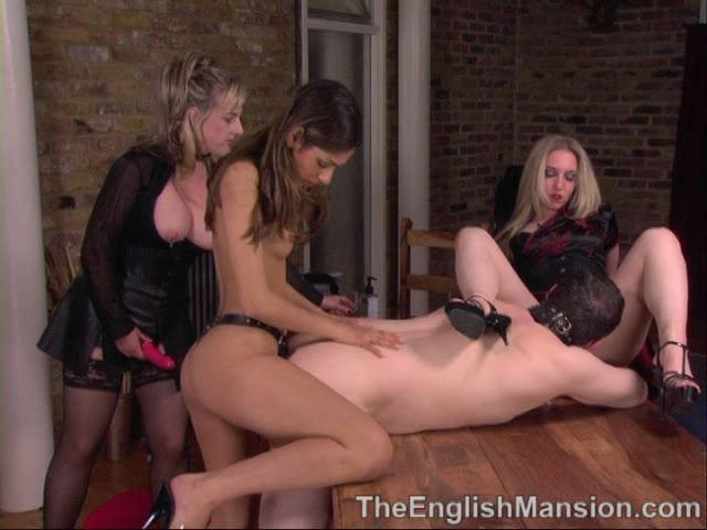 Lady Nina Birch, Mistress Sidonia, Slavegirl Sahara In Scene: Slave Girl Banquet Pt 2 - THEENGLISHMANSION - SD/480p/WMV