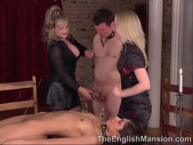 Lady Nina Birch, Mistress Sidonia, Slavegirl Sahara In Scene: Slave Girl Banquet Pt 1 - THEENGLISHMANSION - SD/480p/WMV