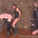 Goddess Lillith, Lady Nina Birch, Mistress Rebekka, Mistress Sidonia, Strapon Jane In Scene: Party Games Pt 3 – Bi Boys – THEENGLISHMANSION – SD/480p/WMV