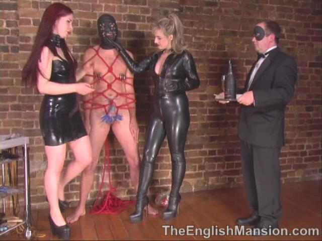 Goddess Lillith, Lady Nina Birch, Mistress Rebekka, Mistress Sidonia, Strapon Jane In Scene: Party Games Pt 2 - The Auction - THEENGLISHMANSION - SD/480p/WMV
