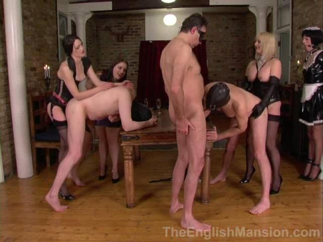 Domina Darla, Lady Nina Birch, Mistress Sidonia, Mistress Velvet In Scene: The Mistresses' Party 2 - Late Evening, Enforced Bi - THEENGLISHMANSION - SD/480p/WMV