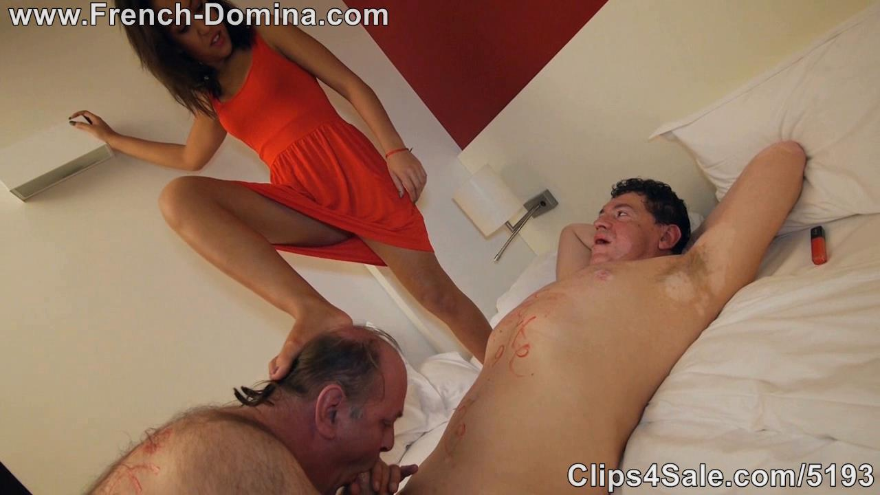 Mistress Kahina In Scene: Ms Kahina and the old servant 3 - FRENCH-DOMINA - HD/720p/WMV