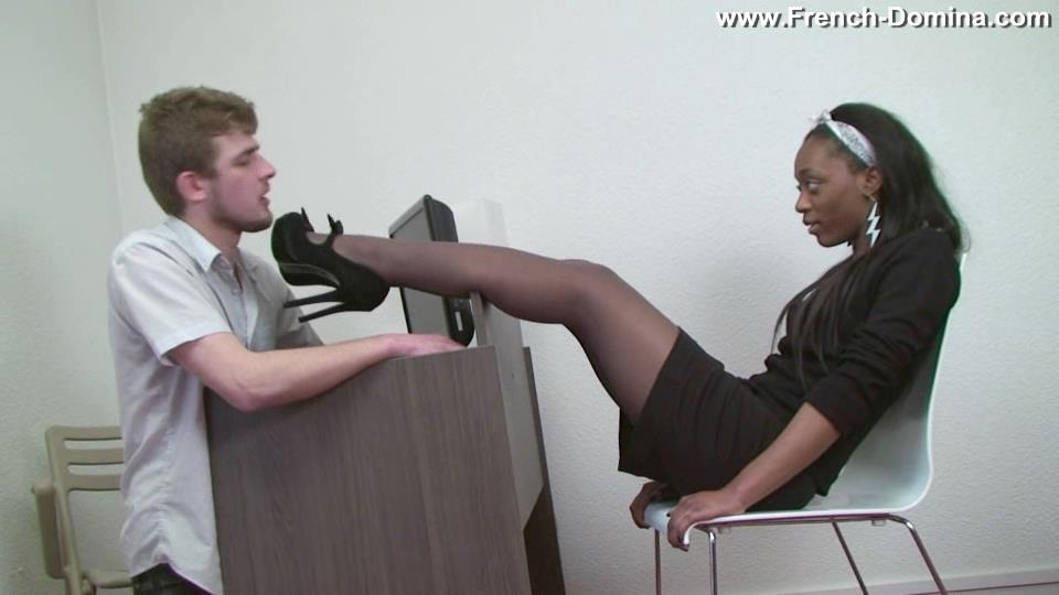 Mistress Ashley In Scene: Miss Ashley with her boss - FRENCH-DOMINA - SD/540p/WMV