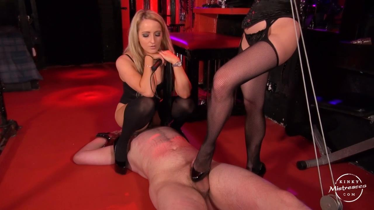 Mistress Courtney, Goddess Maya Liyer In Scene: Whipped And Punished On The Floor - KINKYMISTRESSES - HD/720p/MP4