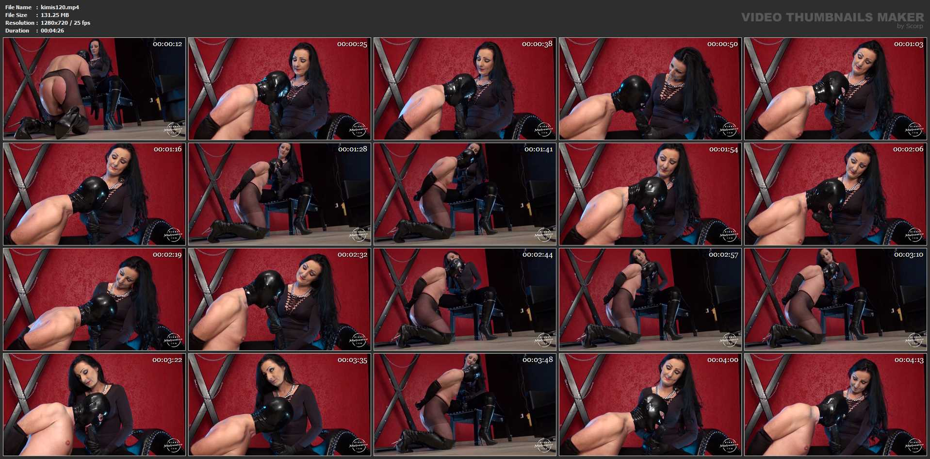 Lady Luciana In Scene: Suck Lucian's Extra Large Strapon - KINKYMISTRESSES - HD/720p/MP4