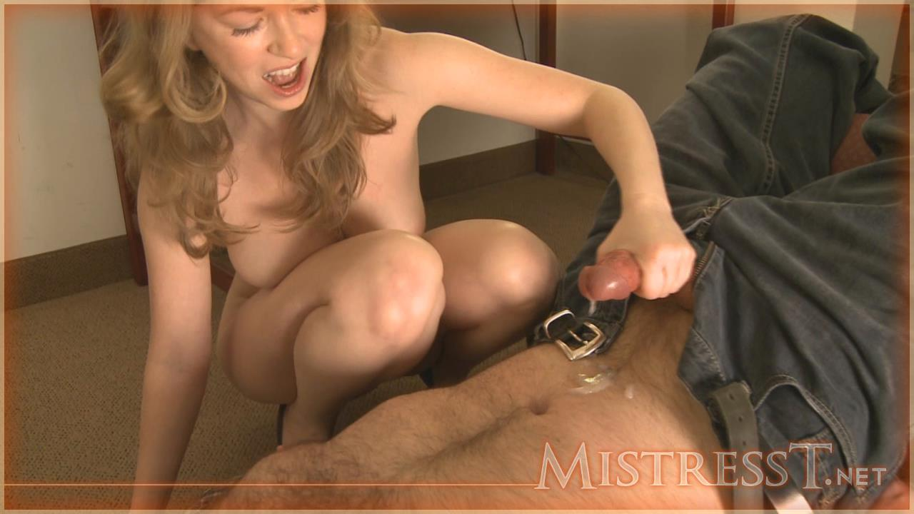 2 mistresses fuck the slaves hard cock 1