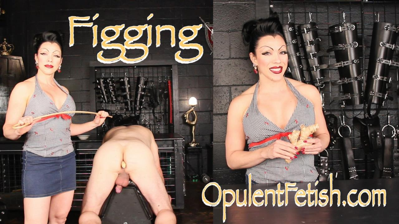 Goddess Cheyenne In Scene: Figging - OPULENTFETISH / GODDESSCHEYENNE - HD/720p/MP4