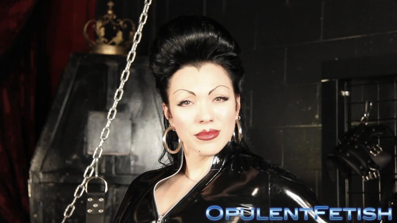 Goddess Cheyenne In Scene: Latex Smother - OPULENTFETISH / GODDESSCHEYENNE - HD/720p/MP4