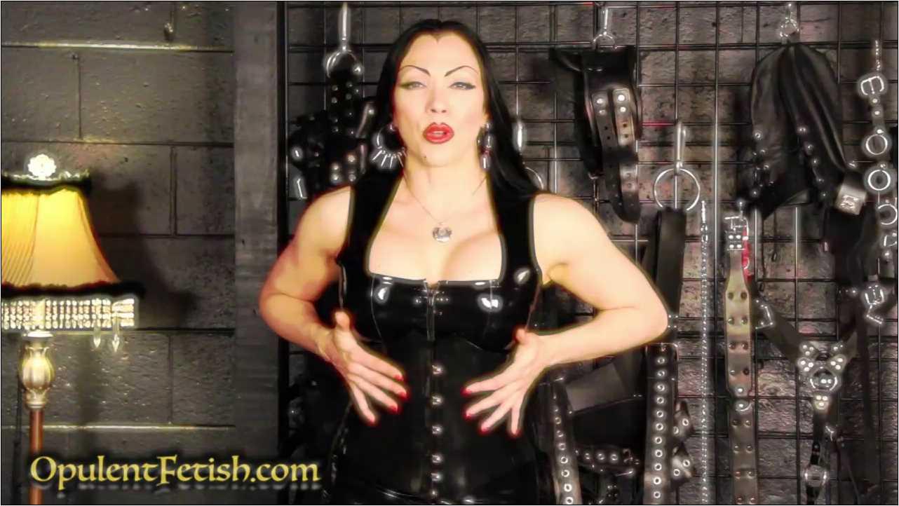 Goddess Cheyenne In Scene: Latex Stroke - OPULENTFETISH / GODDESSCHEYENNE - HD/720p/MP4