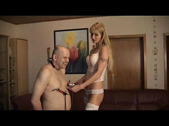 Empress Victoria In Scene: Nipple Torture - PLANETFEMDOM - SD/480p/WMV