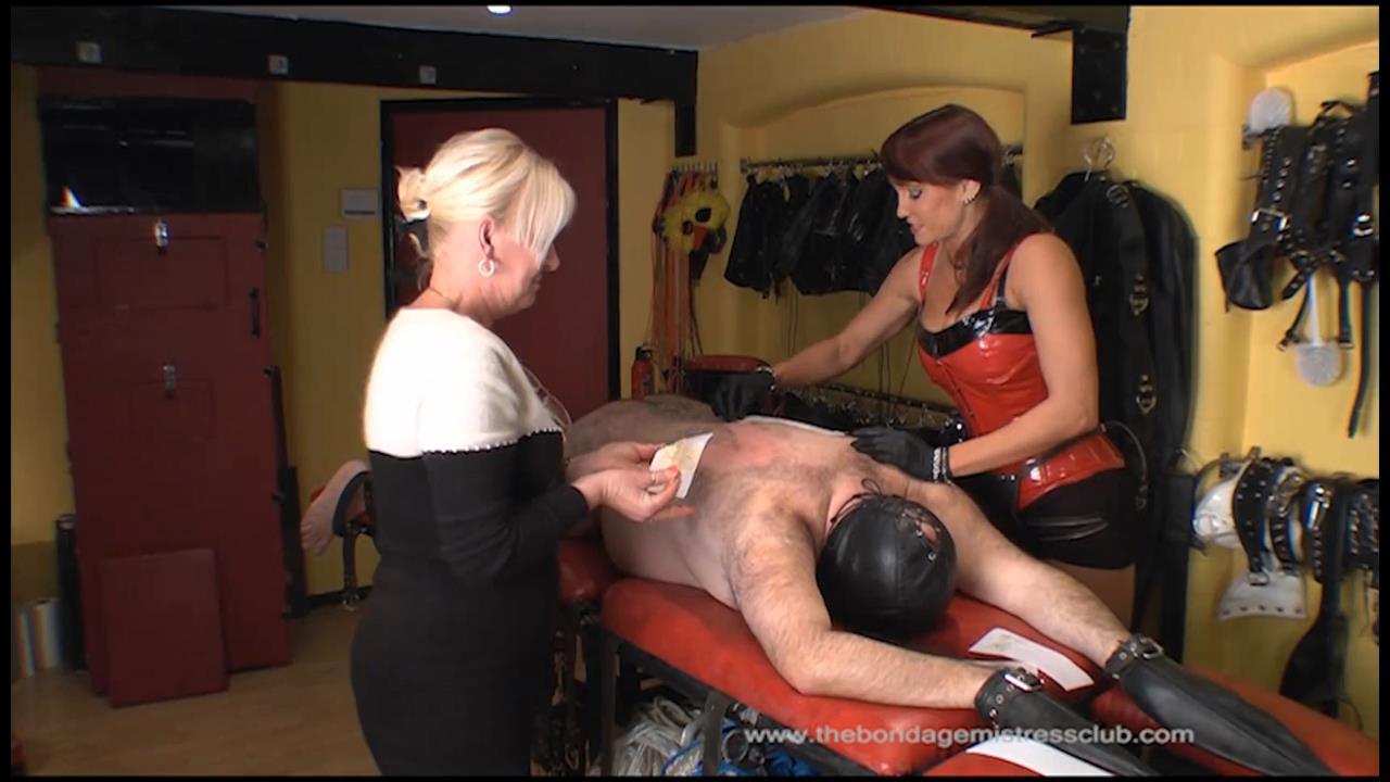 Riding Mistress In Scene: The Waxing - THEBONDAGEMISTRESSCLUB - HD/720p/M4V