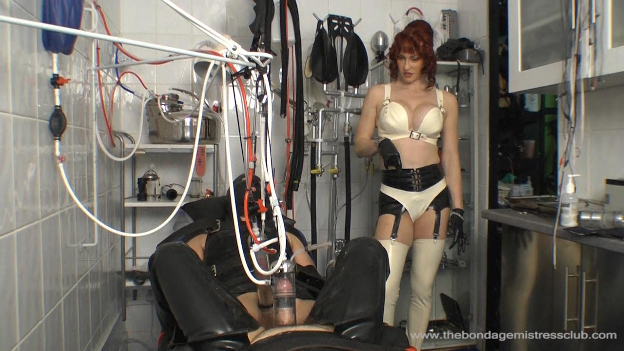 Riding Mistress In Scene: Machine Farm Milking - THEBONDAGEMISTRESSCLUB - HD/720p/WMV