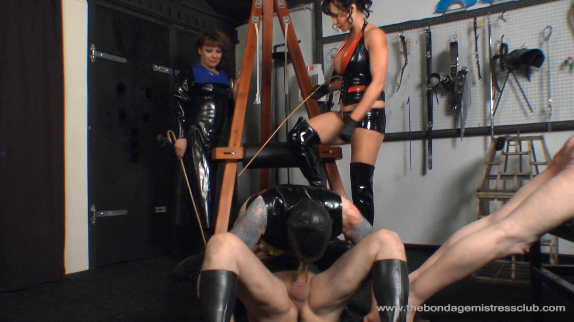 Mistress Rouge In Scene: 80 Strokes - THEBONDAGEMISTRESSCLUB - FULL HD/1080p/WMV