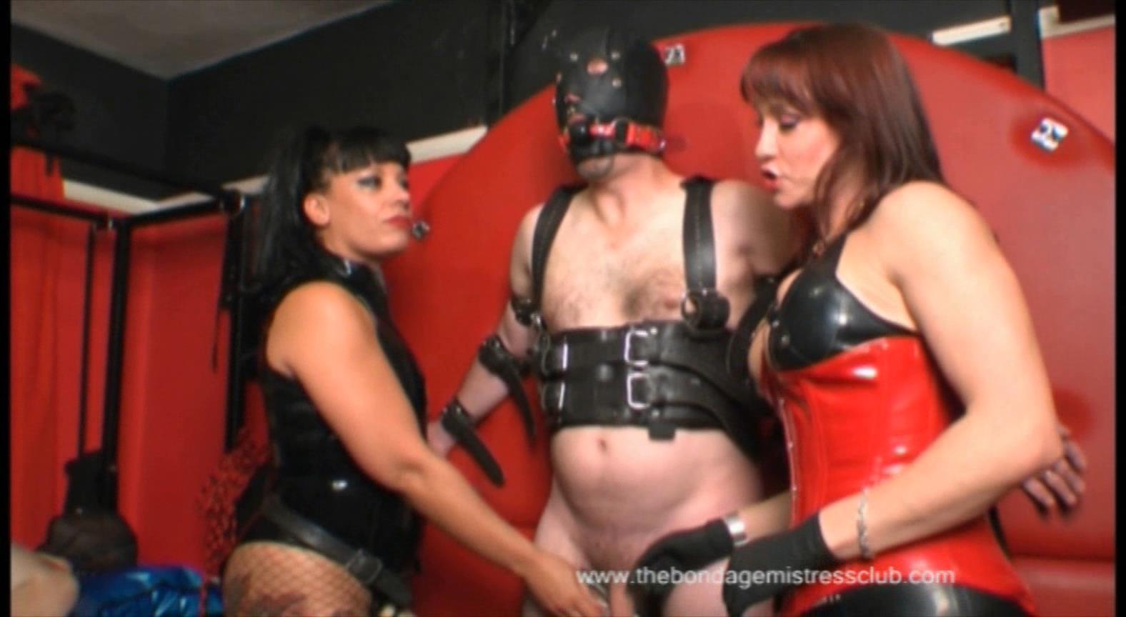 Mistress Rouge In Scene: Slave Locked Balls - THEBONDAGEMISTRESSCLUB - HD/864p/FLV