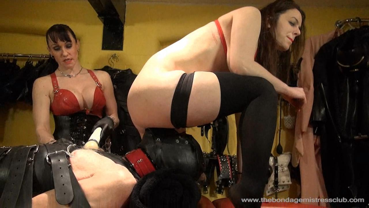 Riding Mistress, Subgirl Beauvoir In Scene: Ladies First - THEBONDAGEMISTRESSCLUB - HD/720p/WMV