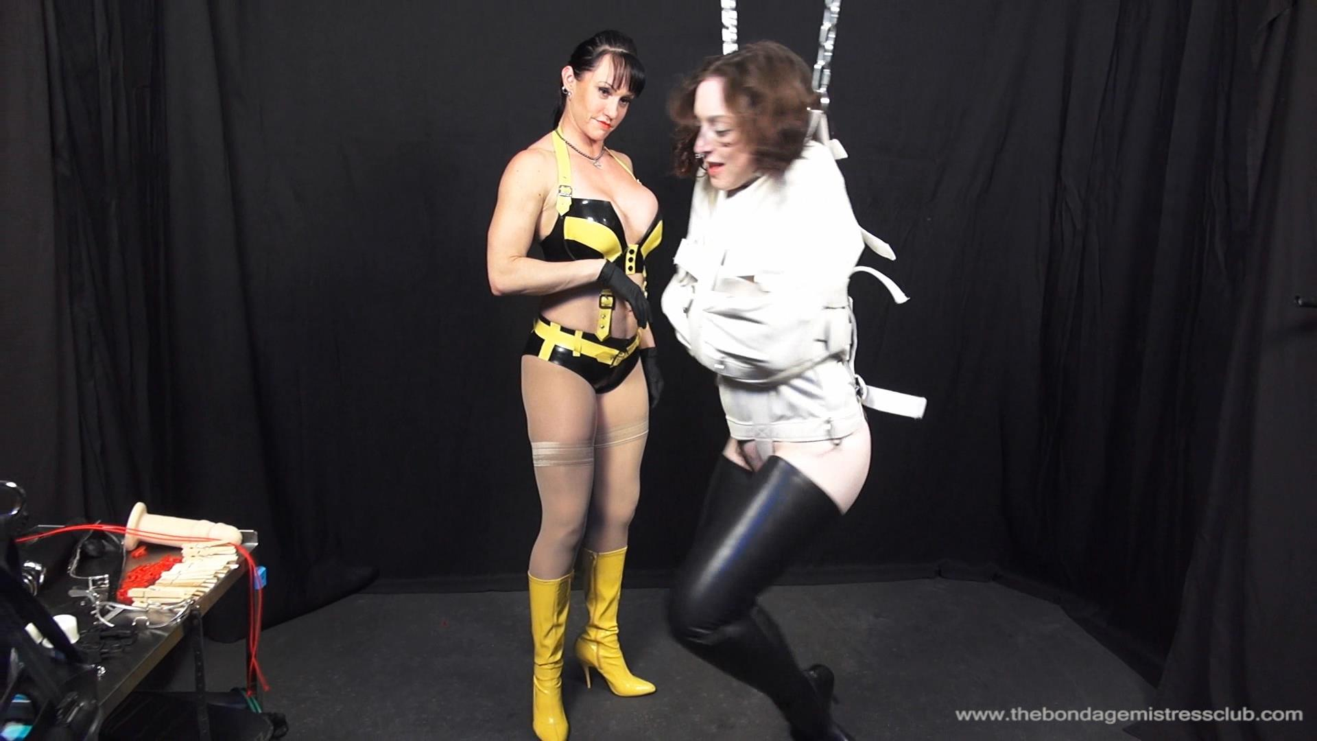Dixon Mason In Scene: Straitjacket Ballet - THEBONDAGEMISTRESSCLUB - FULL HD/1080p/WMV