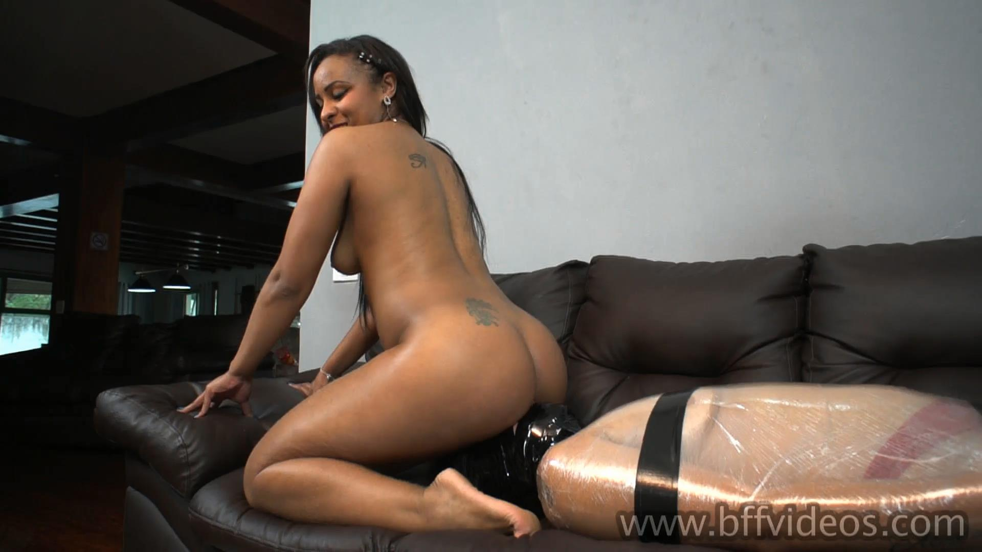 Black Goddess Wrapped Farting Session Full - BFFVIDEOS - FULL HD/1080p/MP4