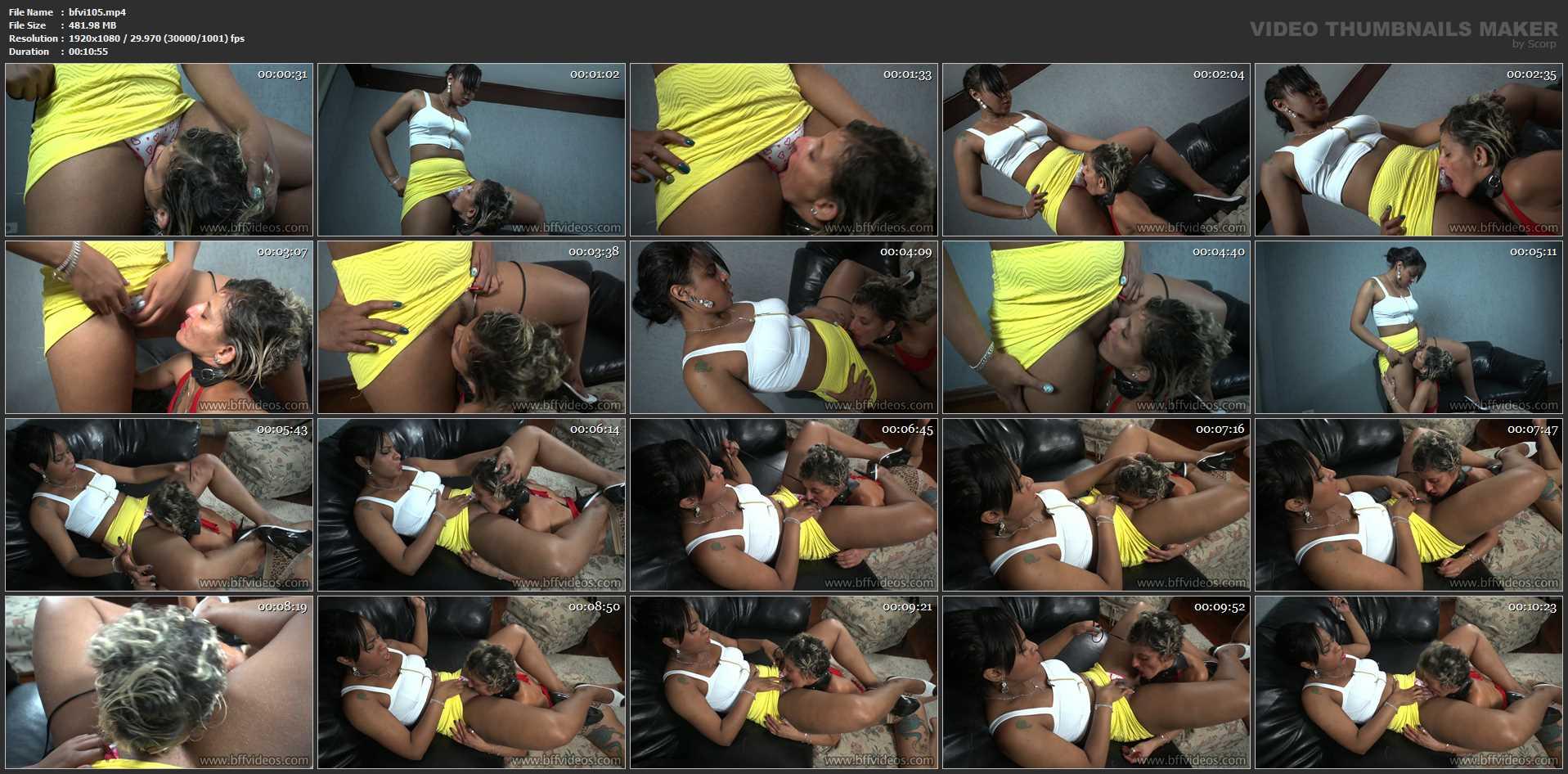 Goddess Angela In Scene: Angela Lesbian Domination Session - BFFVIDEOS - FULL HD/1080p/MP4