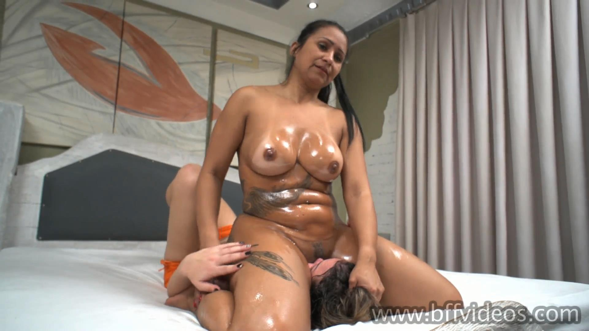 Slave Yasmin, Goddess Priscila In Scene: Yasmin First Time Under Aggressive Priscila Full - BFFVIDEOS - FULL HD/1080p/MP4