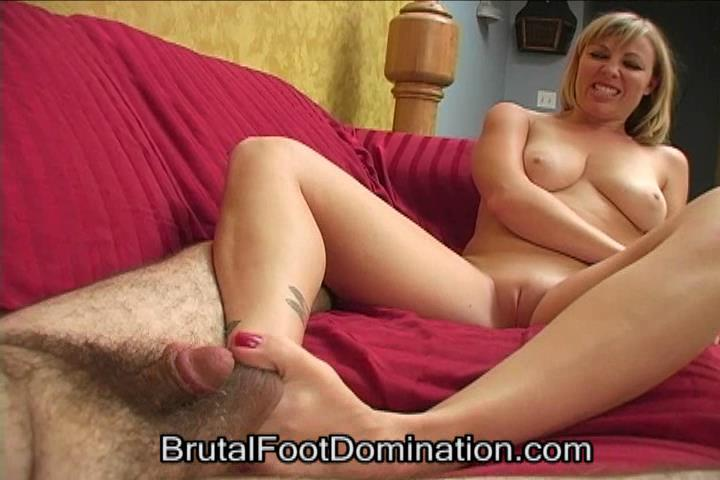 Bikini Babe Foot Domination and Femdom Foot Fetish Cumshots Part 3 - BRUTALFOOTDOMINATION - SD/480p/WMV