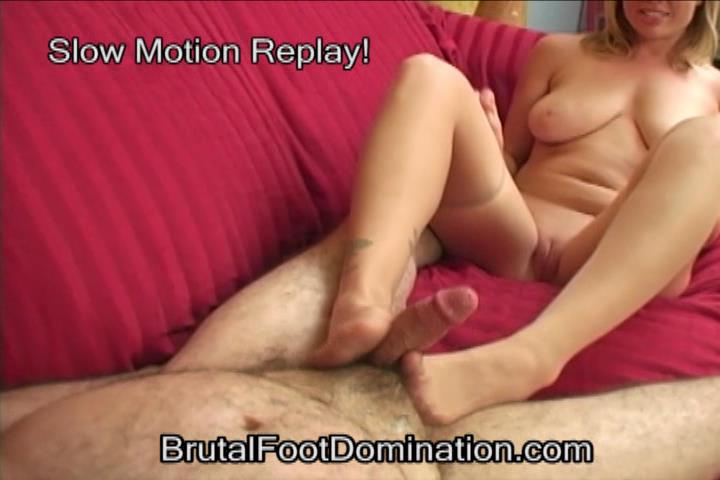 Bikini Babe Foot Domination and Femdom Foot Fetish Cumshots Part 4 - BRUTALFOOTDOMINATION - SD/480p/WMV