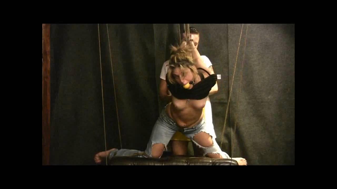 Triple Tied Wicked Strappado Reposted - BRIELLASBONDAGEBOUTIQUE - HD/720p/MP4