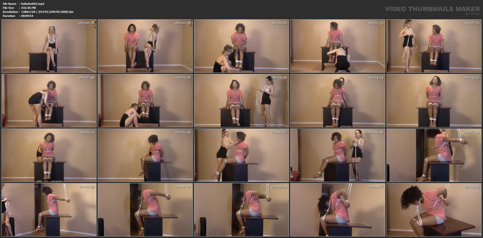 Destiny, Briella Jaden In Scene: Leggy Black 19 year old's first bondage audition - BRIELLASBONDAGEBOUTIQUE - HD/720p/MP4