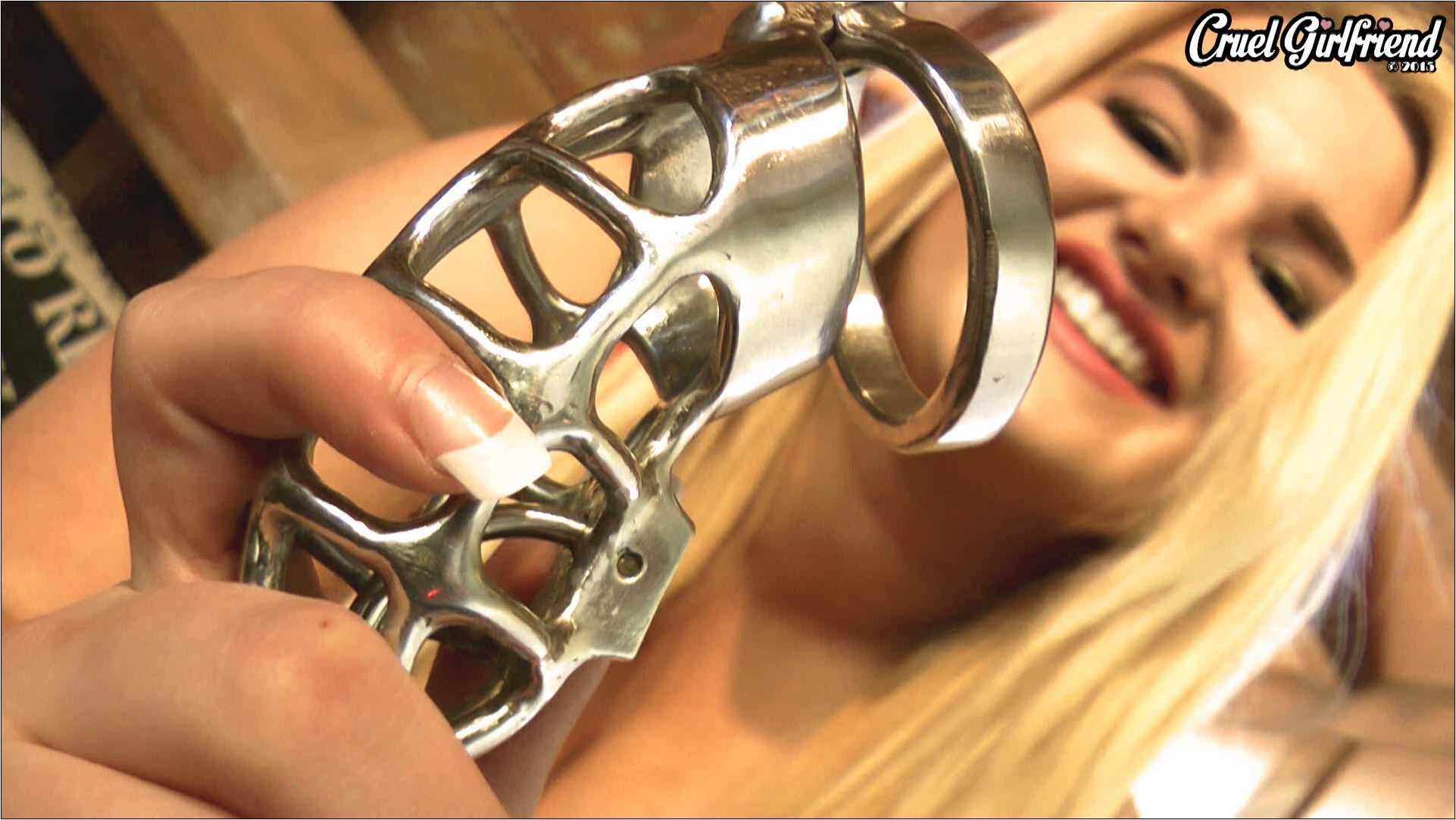 Princess Ashleigh In Scene: Sealed Into Steel - CRUELGF - FULL HD/1080p/WMV