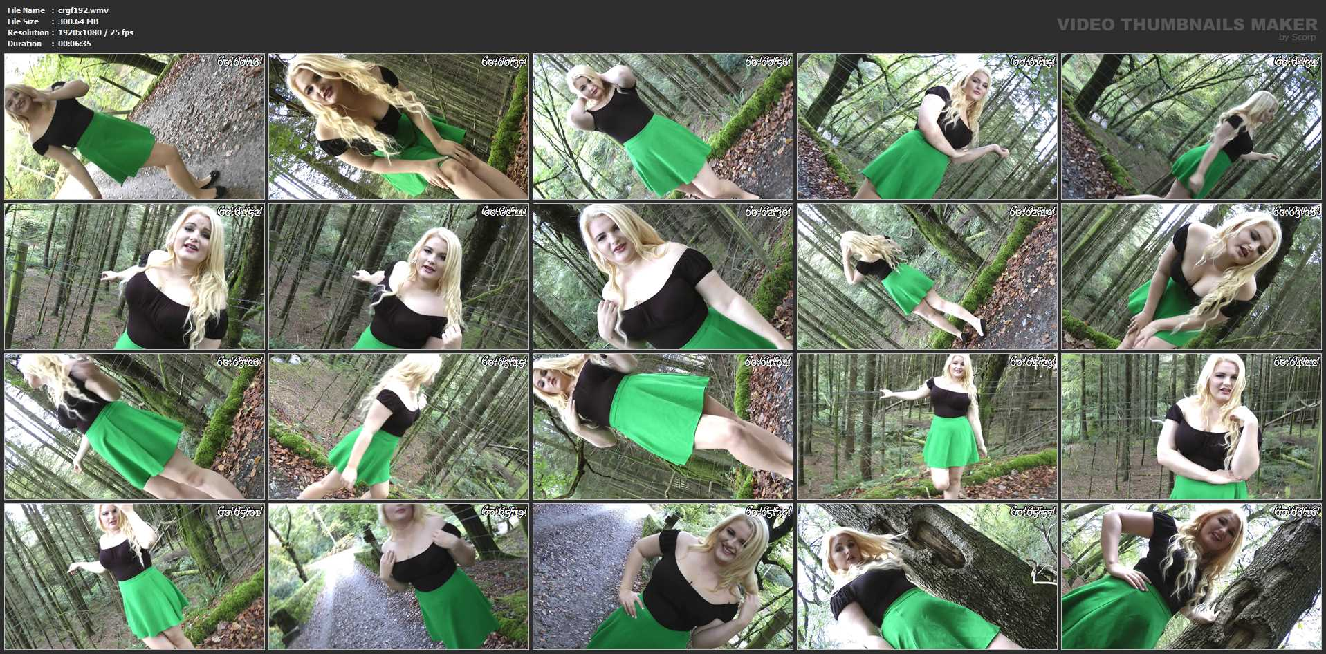 Princess Ashleigh In Scene: Sissy In The Woods - CRUELGF - FULL HD/1080p/WMV