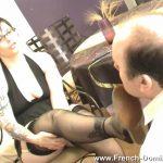 Mistress Stephanie In Scene: Ms Stephanie feeds her pig – FRENCH-DOMINA – SD/576p/WMV